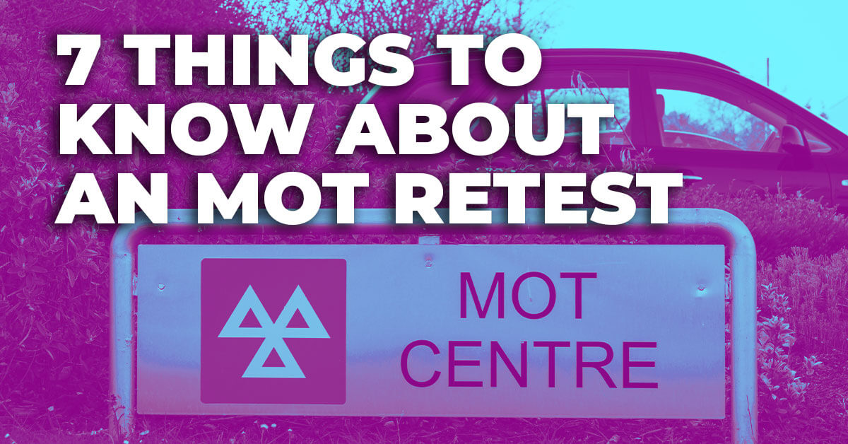 7 Things to Know About an MOT Retest Thumbnail