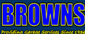Browns Thame Ltd Logo