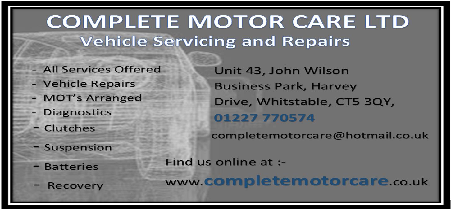 Complete Motor Care Logo