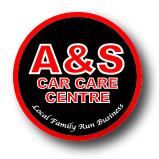 A & S Car Care Centre Logo