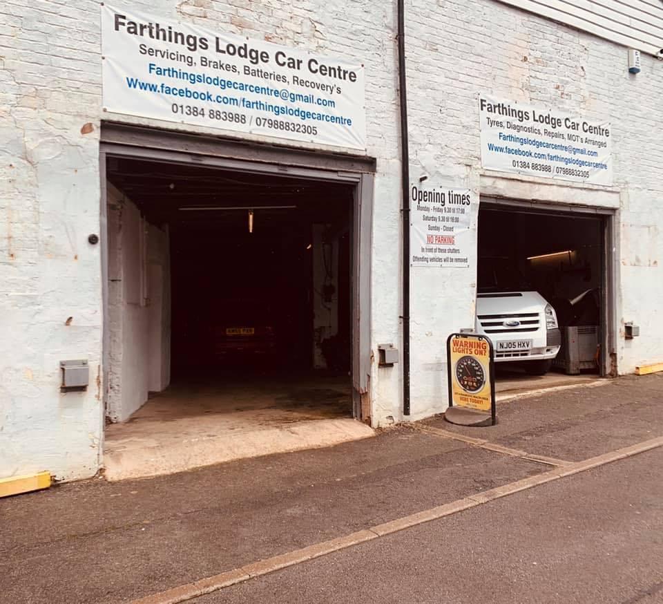 Farthings Lodge Car Centre - Booking Tool Logo
