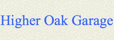 Higher Oak Garage Logo