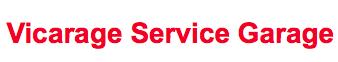 Vicarage Service Garage Logo