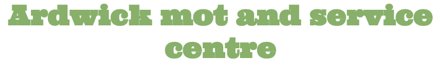 Ardwick MOT and Service Centre Logo