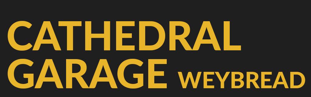 CATHEDRAL GARAGE Logo