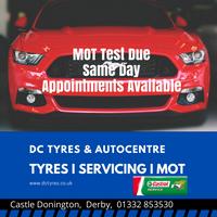 DC Tyres & Autocentre Logo