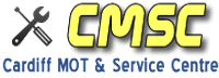 CARDIFF MOT & SERVICE CENTRE Logo