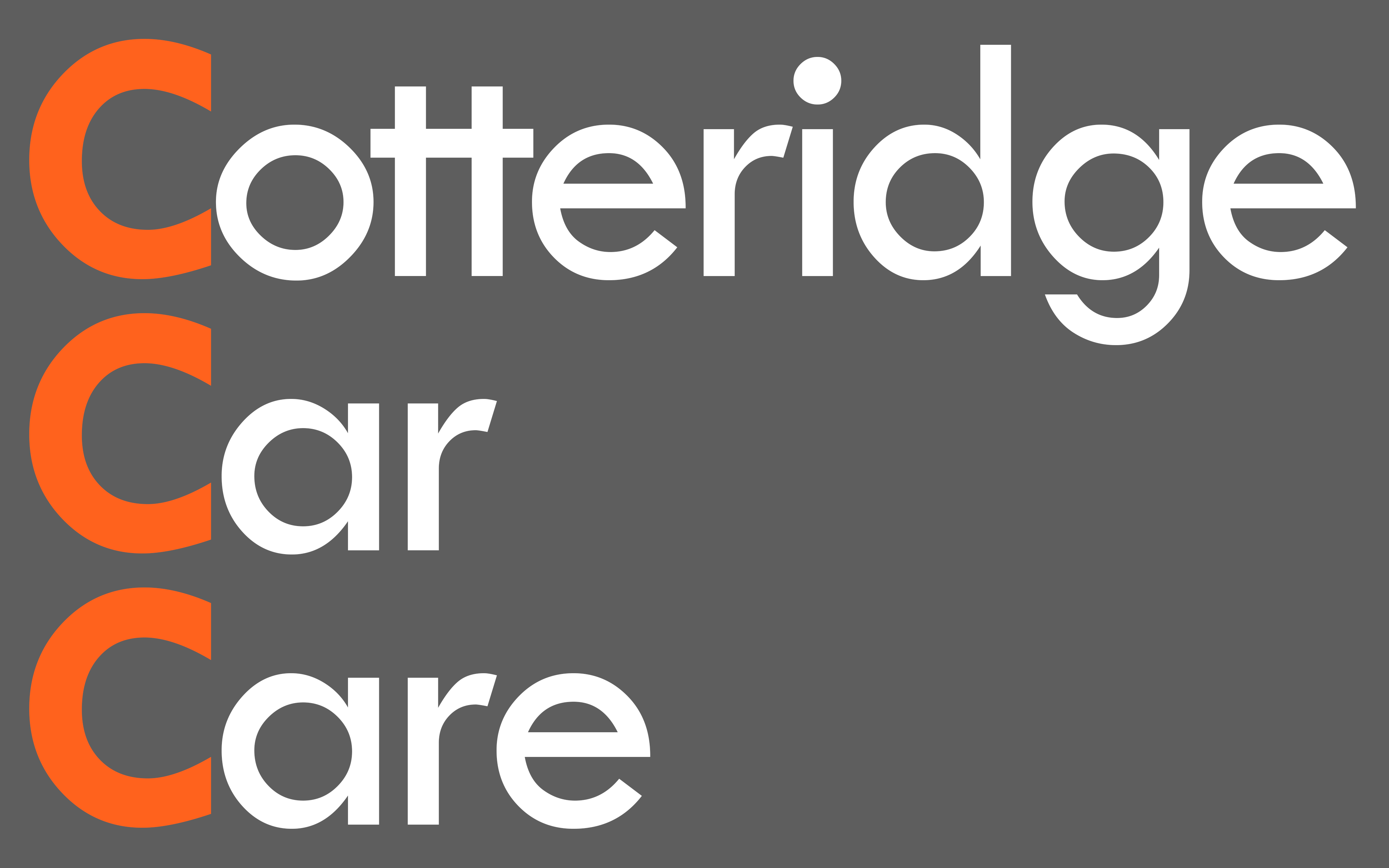 Cotteridge Car Care Logo
