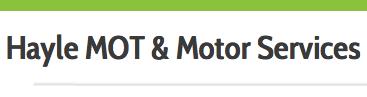 Hayle MOT & Motor Services Logo
