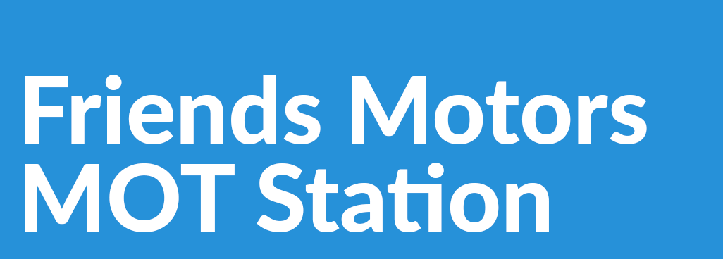 Friends Motors M O T Station Logo