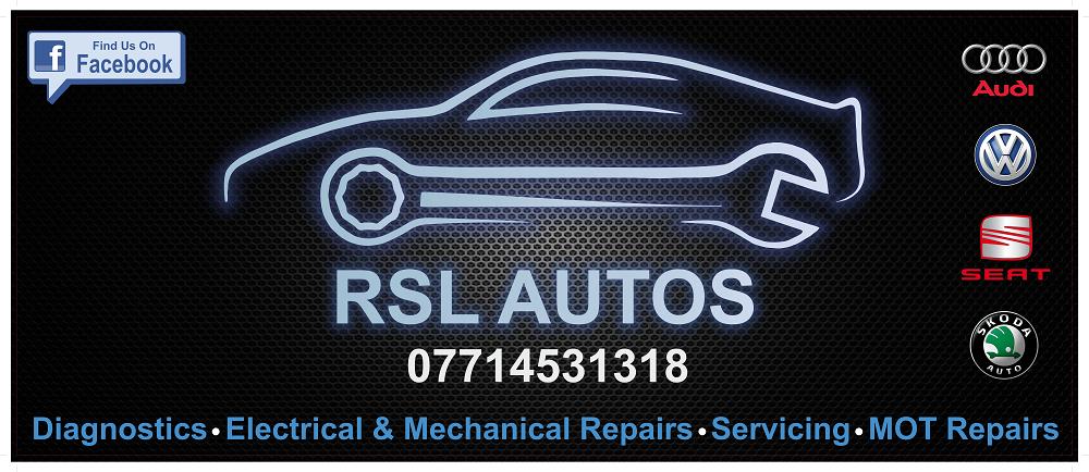 RSL AUTOS Offers Logo