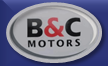 B and C Motors Logo