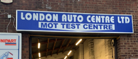 London Auto Centre LTD Logo