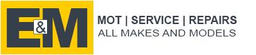 E & M MOT AND SERVICE Logo