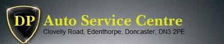 D P Auto Service Centre Logo