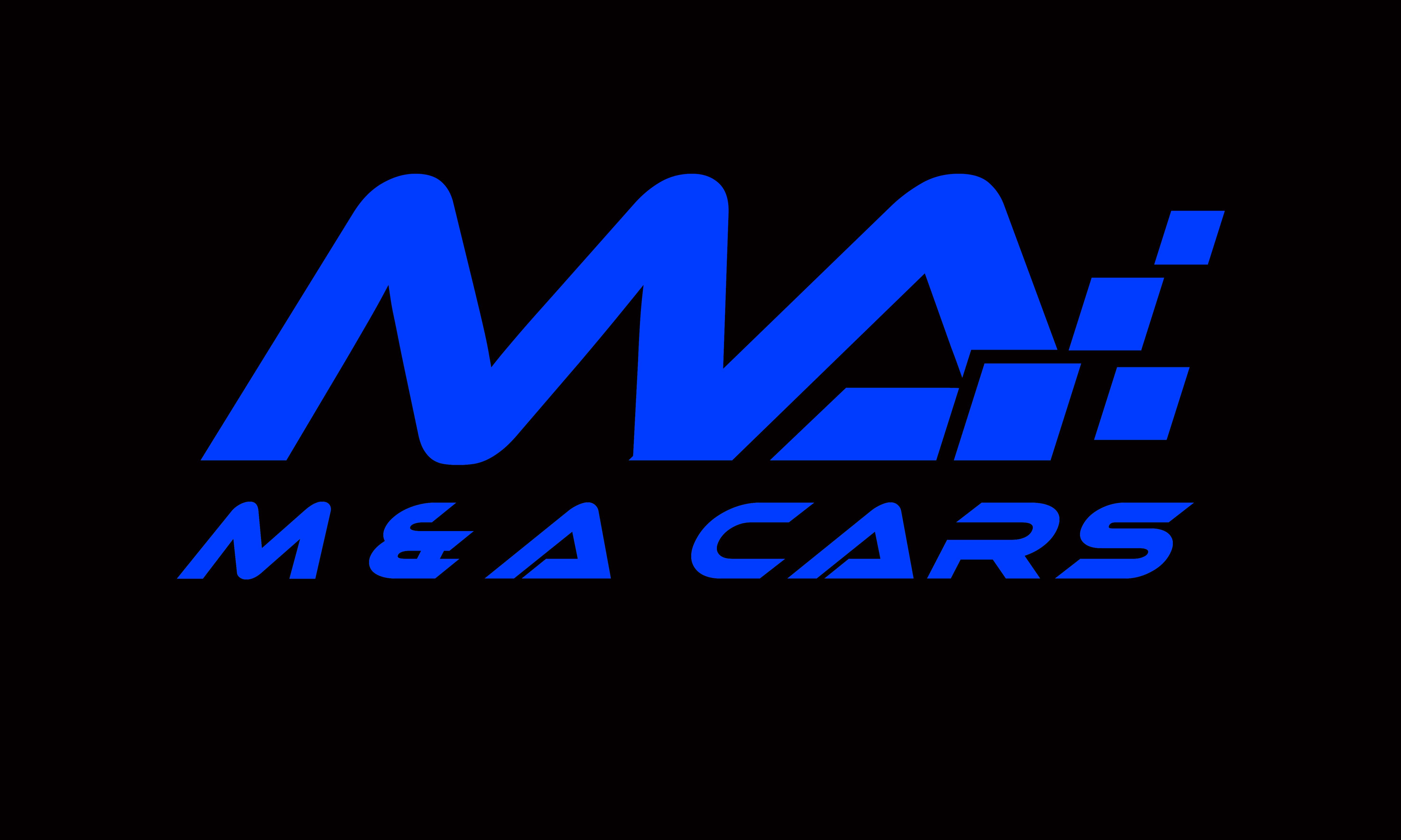 M & A Cars Logo