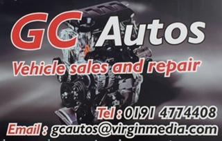 G C Auto Limited Logo