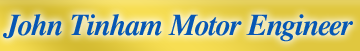 John Tinham Motor Engineer Logo
