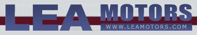 LEA MOTORS Logo
