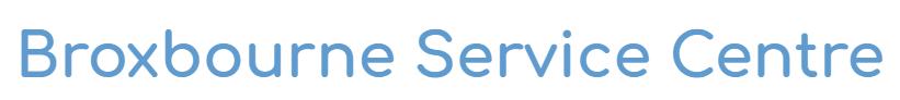 BROXBOURNE SERVICE CENTRE Logo