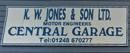 Central Garage - Felinheli Logo