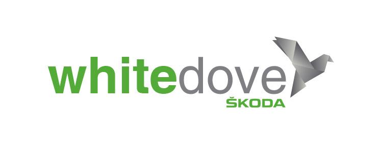 White Dove Skoda Logo