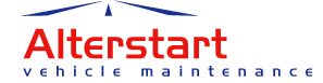 Meriden Auto Station trading as Alterstart Offers Logo