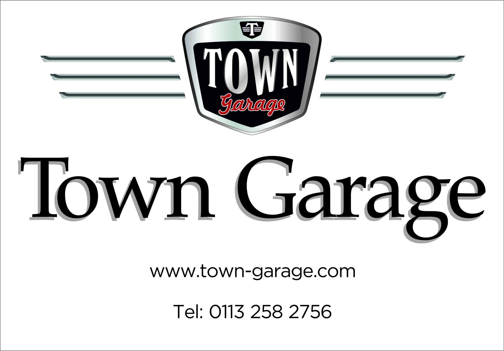 TOWN GARAGE - LS18 4NW Logo