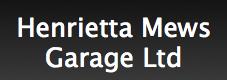 Henrietta Mews Garage Limited Logo