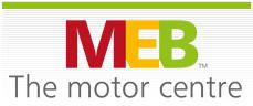 MEB The Motor Centre Logo