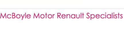 McBoyle Motor Renault Specialists Logo