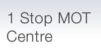 1 Stop Mot Centre Logo