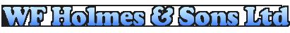 W F HOLMES & SONS LTD Logo