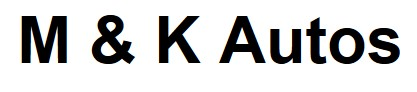 M & K Autos Logo