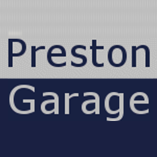 PRESTON GARAGE Logo