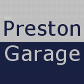 PRESTON GARAGE Logo