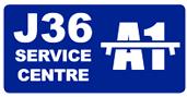 Junction 36 Service Centre Logo