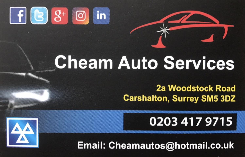 Cheam Auto Services Logo