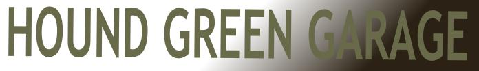 Hound Green Garage Logo