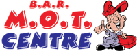 B. A. R MOT Centre Logo