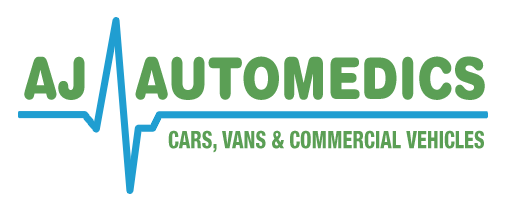 A J Automedics Logo