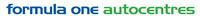 Formula One Autocentre Salisbury Logo