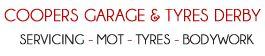 Coopers Garage Logo