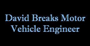 David Breaks Motor Vehicle Engineer Logo