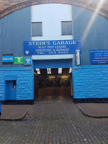 Steins Garage Logo