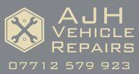 AJH Vehicle Repairs Logo