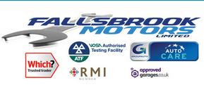 Fallsbrook Motors Logo