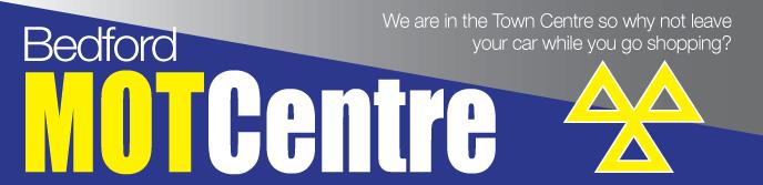 Bedford MOT Centre Logo