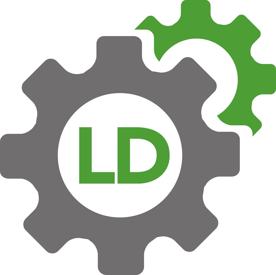 LD Garage Services Offers Logo
