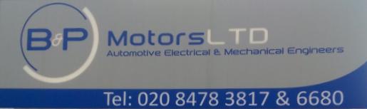 B&P Motors Logo